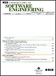 Cover of IEEE Transactions on Software Engineering
